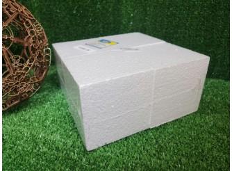 """Заготовка из пенопласта """"Куб"""" 10 см (набор 4шт)"""