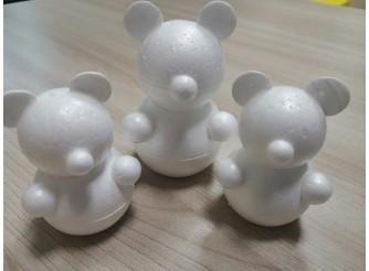 """Основа из пенопласта 3D """"Мишка"""" h11 cм (4шт)"""