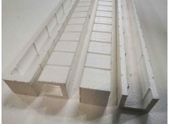 П - профиль для дверей /64*60*1000 мм/пенопласт/формовка (1шт)