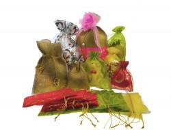 Мешки подарочные декоративные