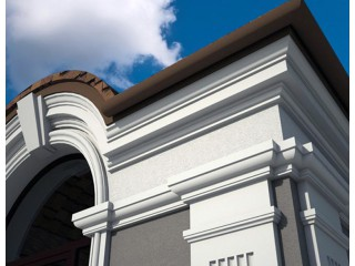 Лепнина для фасада  (Окна, карнизы, наличники)