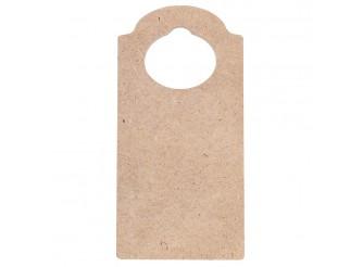 Заготовка из МДФ Табличка на дверь /11х22х0,6см (1 шт)