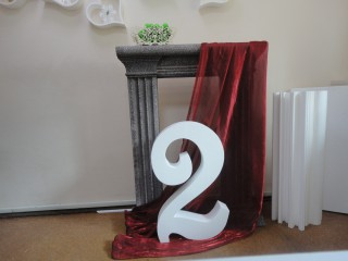 Интерьерный декор (Буквы, камины, колонны)