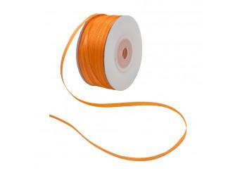 Лента атласная 0,3см (8027/3070 яр.оранжевый) 100м (1бобина)