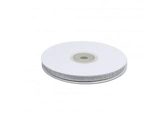 Лента метал/парча 0,6*32,9 м /серебро (бобина)