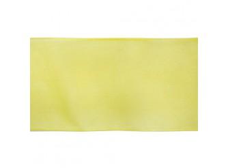 Лента капроновая, 7,5 см*25 м (желтый)