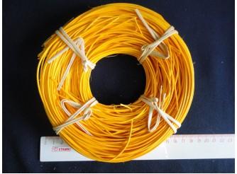 Лоза ротанг желтая в мотке 1,75 (100гр)
