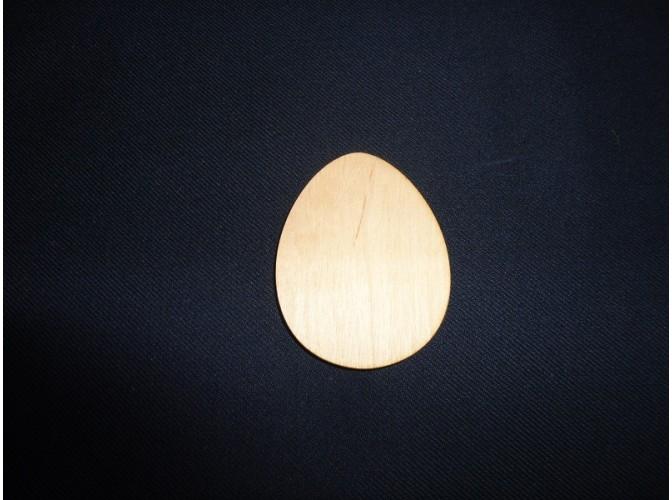 """Магнит - заготовка """"Яйцо простое"""" h5см/фанера (1шт)"""