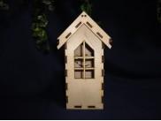 Чайный домик с окном для росписи/фанера (1шт)