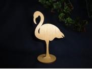 """Подставка для бижутерии """"Фламинго""""/фанера h12см (1шт)"""