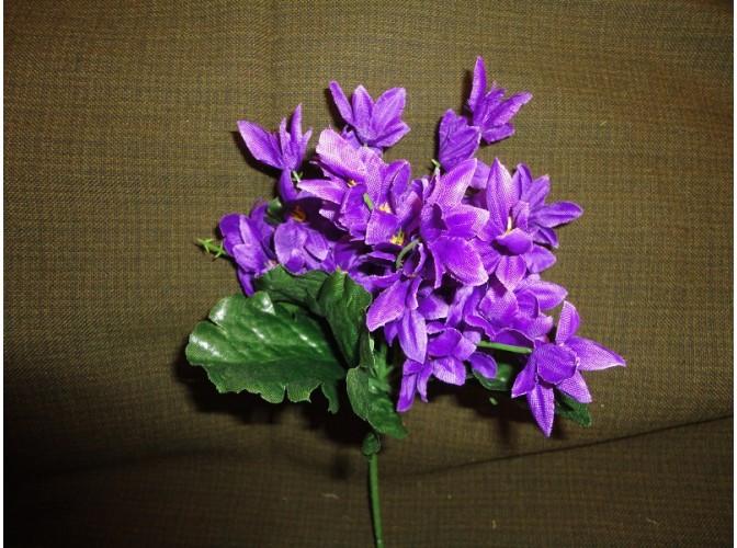 """Букет цветов """"Звездочки"""" сиреневый h22см (1шт)"""