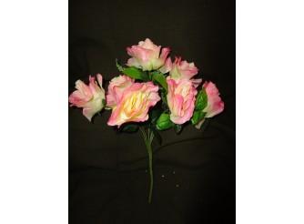Букет роз розовый h45cм, 7 голов (1шт)