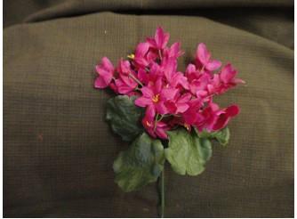 """Букет цветов """"Звездочки"""" бордовый h22см (1шт)"""