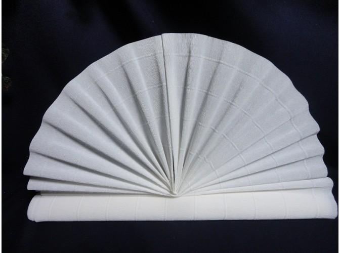 Гофрированная бумага №600/900 /цвет белый/50х250см (1рулон)