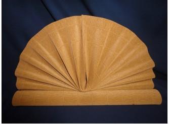 Гофрированная бумага №567/св.коричневый/ 50х250см (1рулон)
