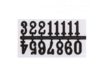 5AS-073 Цифры арабские для часов 1,5см (черный)