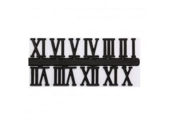 5AS-088 Цифры римские для часов 2,3см (черный)