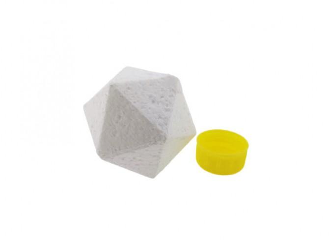 Икосаэдр  из пенопласта Ø7 см/20 граней 3,5см  (1шт)