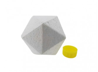 Икосаэдр  из пенопласта Ø9 см/20 граней 5.5см  (1шт)