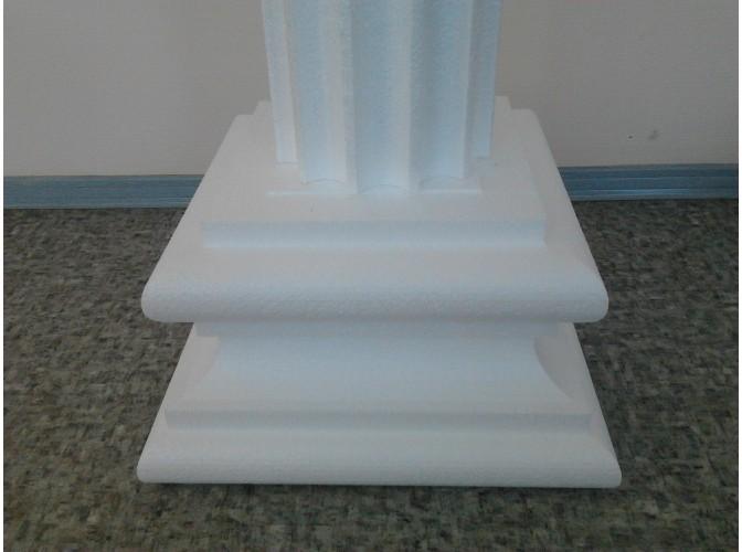 Колонна - пьедестал из пенопласта h150см, ствол Ø20см (комплект)
