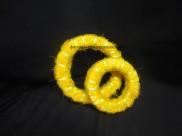 Сизалевое полотно, цвет желтый (1м)