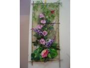 Сизалевое полотно, цвет натуральный (1м)
