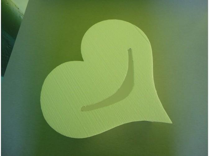 "Основа для шкатулки-копилки ""Сердце"" из пенопласта Ø30; h15 (1шт)"