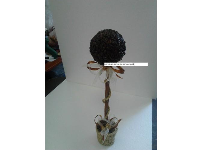 Шар из пенопласта Ø11 см / фактурный (1шт)