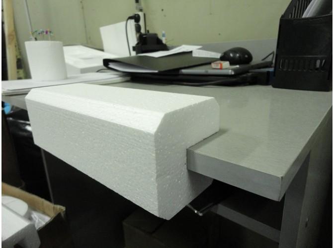 П - профиль из пенопласта 8х8х100 см (1 шт)