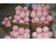 Шар блестящий Ø12 см / розово - сахарный (1шт)