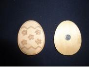 """Магнит - заготовка """"Яйцо в цветочек"""" h5см/фанера(1шт)"""
