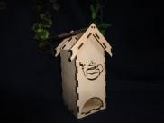 """Чайный домик для росписи """"Чайник""""/фанера  (1шт)"""