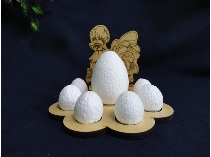 """Подставка деревянная """"Наседка"""" на 7 яиц d 3,5см (1шт)"""
