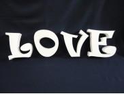 """Буквы из пенопласта """"LOVE"""" 1/ h20см, w5см (1 комплект)"""