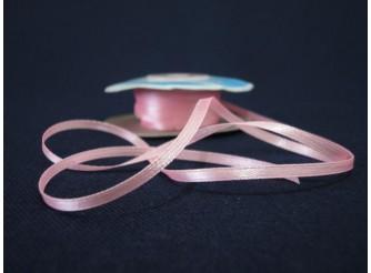 Лента атласная 0,3см (8037/3053 св. розовый) 100м