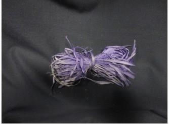 Рафия натуральная фиолетовая 25гр (1пак)