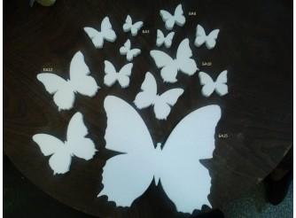 "Заготовка для творчества ""Бабочка"" Ø12 (1шт)"
