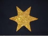 """Декор из пенопласта """"Блестящая звезда 6лучей"""" (1 шт)"""