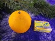 """Муляж """"Апельсин"""" крупный (1шт)"""