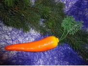 """Муляж """"Морковь"""" крупная (1шт)"""