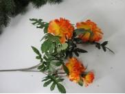 Бархатцы желто-оранжевые ветка 60см (1шт)
