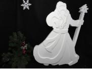 "Заготовка из пенопласта ""Дед Мороз в пути"" h70см, w7см/рельеф (1шт)"