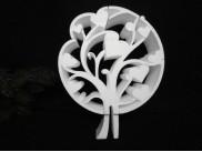"""Заготовка для творчества """"Дерево с сердечками"""" d30см, w5см (1шт)"""
