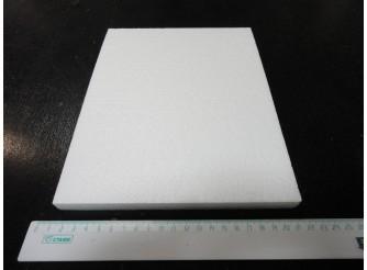 Вкладыш  из пенопласта 20х25х1,5 см (1шт)