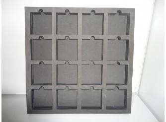 Декоративный ложемент из пористой резины 50см*4см (1шт)