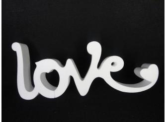 """Буквы из пенопласта """"LOVE"""" В2/слитно h20см; L50см; w5см(1шт)"""