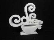 """Заготовка из пенопласта """"Чашка кофе"""" h30cм, w3см(1шт)"""
