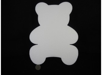 "Основа из пенопласта ""Мишка Тедди "" h33 cм (1шт)"