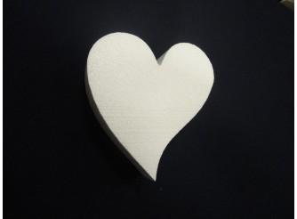 """Заготовка для творчества """"Сердце ассиметричное"""" Ø15/5см  (1шт)"""