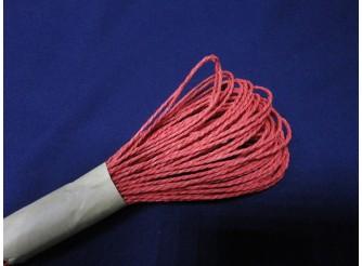 Веревка флористическая бумажная / красная 2мм*27м (1шт)